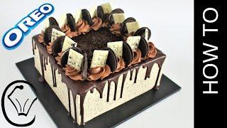 Cookies and Cream Cheesecake Layered Chocolate Mud Cake Birthday Cake