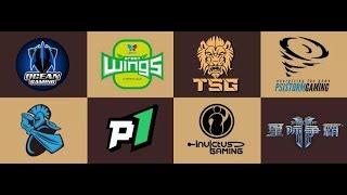 Турнир по StarCraft II: Legacy of the Void (25.05.2019) China Team league - week #6 (день #1)