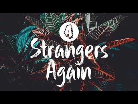 Against The Current - Strangers Again (Lyrics / Lyric VIdeo)