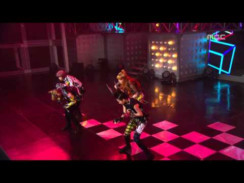 2NE1 - I am the Best, 투애니원 - 내가 제일 잘나가,Music Core 20110709