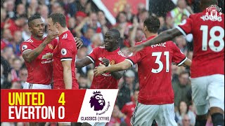 Manchester United 4-0 Everton (17-18) | Premier League Classics | Manchester United