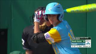 HAWAII VS. SOUTH KOREA HIGHLIGHTS | LLWS World Championship Highlights