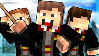 Minecraft Magic School - FIRST DAY! (Minecraft Roleplay) #1