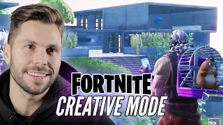 Real Architect Builds A Mansion In Fortnite Creative Mode • Pro Play