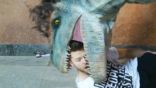 Jurassic World Dinosaurs Prank (SA Wardega)
