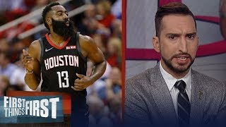 James Harden is the very definition of an underrated player — Nick Wright | NBA | FIRST THINGS FIRST