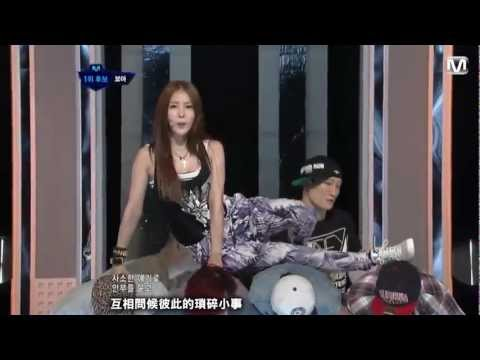 [LIVE 繁中字] 120802  BoA - Only One ft. EunHyuk (Super Junior) @ Comeback Stage