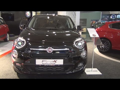 Fiat 500X 1.4 140 Urban Look Lounge (2016) Exterior and Interior in 3D