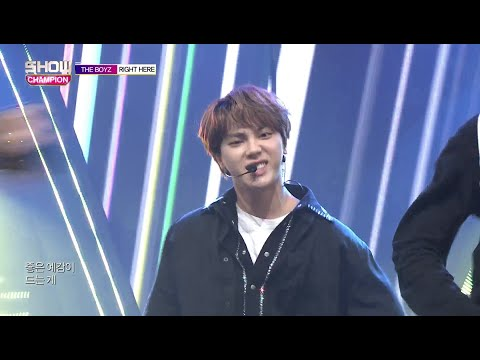 Show Champion EP.285 THE BOYZ -Right Here