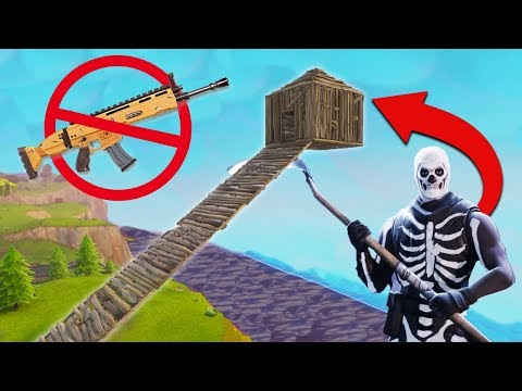 Winning Fortnite With NO WEAPONS!