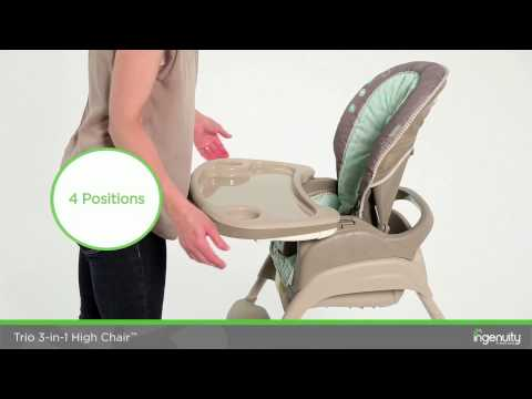 INGENUITY trio 3 in 1 highchair Instructional - 60190