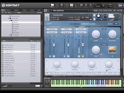 Hybrid Samples - Hybrid Grooves (Walkthrough)
