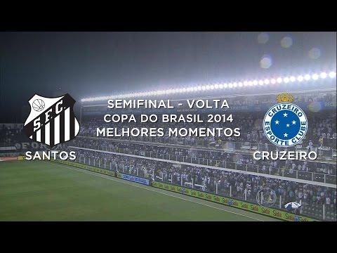 Baixar Melhores Momentos - Santos 3 x 3 Cruzeiro - Copa do Brasil - 05/11/2014