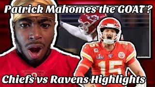 Patrick Mahomes is the GOAT! Chiefs vs Ravens Highlights REACTION | Lamar Jackson's KRYPTONITE?!