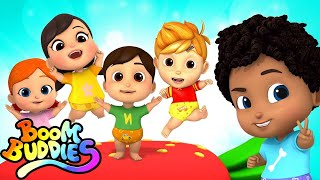 Five Little Babies | Nursery Rhymes & Kids Songs | Baby Rhyme For Children