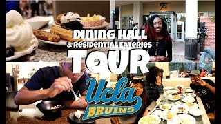 UCLA Dining Hall Tour   Residential Eateries