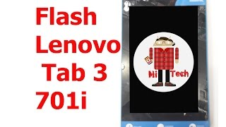 Lenovo Tab 3 TB3-710I Flashing By Smart Phone Flash Tool