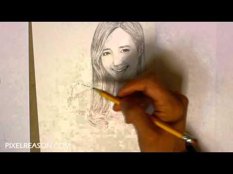 SNSD Girls Generation Yuri Drawing 720p HD