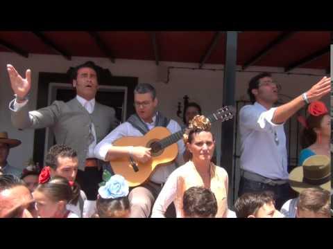 Sevillanas Rocieras: Flor de Romero canta a la Hermandad de Umbrete - El Rocío 2014