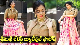 Sreemukhi's Latest Photoshoot Pics goes viral
