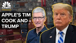 How Apple CEO Tim Cook Charmed President Donald Trump