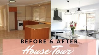HOUSE TOUR | HOME RENOVATION BEFORE & AFTER