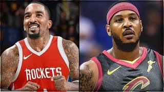 J.R. Smith Trade To The Rockets For Carmelo Anthony - Jr Joins James Harden