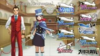 Ace Attorney: All Pursuit Themes 2015 (Original and Orchestrated)