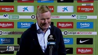 """Koeman: """"Fati has a huge future at Barcelona"""""""