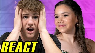 "MattyBRaps REACTS to ""Perfect For Me"" by Haschak Sisters"
