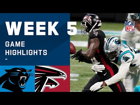 Panthers vs. Falcons Week 5 Highlights | NFL 2020
