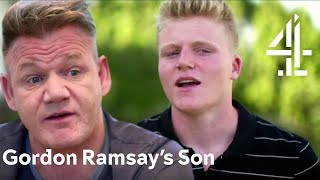 Gordon Ramsay's Son Goes Back to His Dad's Humble Roots | Born Famous