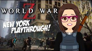 World War Z - First Look! (New York Playthrough)
