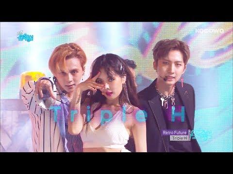 Triple H - Retro Future [Show! Music Core Ep 597]