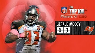 #63: Gerald McCoy (DT, Buccaneers) | Top 100 NFL Players of 2016