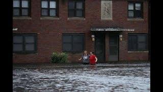 'Catastrophic' Hurricane Florence buffets US east coast