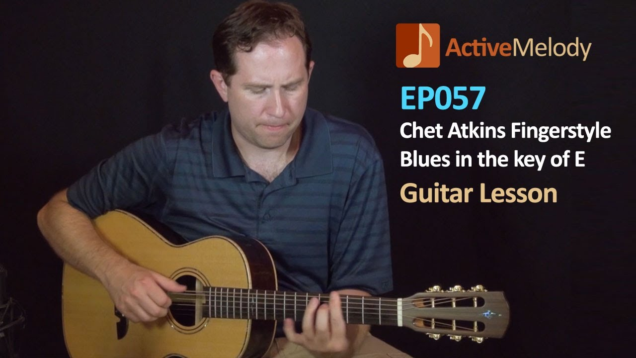chet atkins blues finger style guitar lesson ep057 youtube. Black Bedroom Furniture Sets. Home Design Ideas
