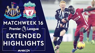 Newcastle v. Liverpool | PREMIER LEAGUE HIGHLIGHTS | 12/30/2020 | NBC Sports