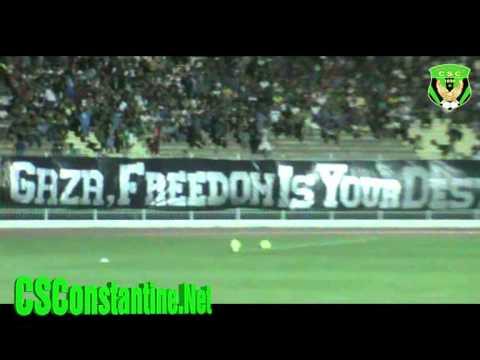 CSConstantine - Celta De Vigo : Solidarité avec Gaza