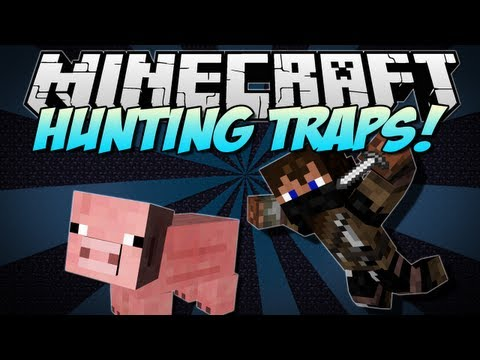 Minecraft   HUNTING TRAPS! (Trap Animals And Your Friends!)   Mod Showcase [1.5.2] - Smashpipe Games