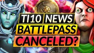 NEW TI10 CONFIRMED - BUT it's NOT ALL GOOD NEWS - 2021 BATTLE PASS CANCELED? - Dota 2