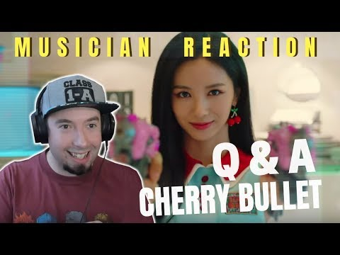 MUSICIAN REACTS   CHERRY BULLET -