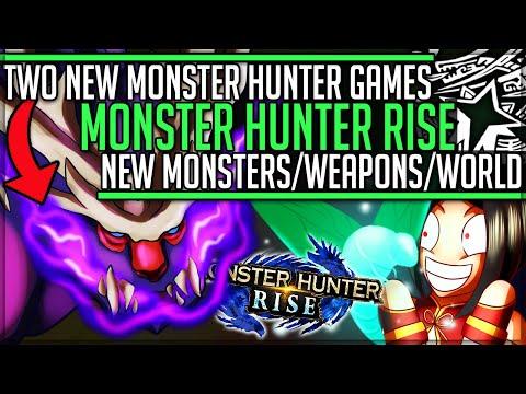 TWO NEW MONSTER HUNTER GAMES CONFIRMED - Monster Hunter Rise + Stories 2! (Trailer Breakdown)