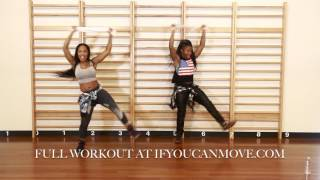 TOWEL DANCE WORKOUT Sweat and Burn!!! -Keaira LaShae