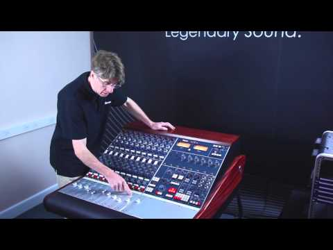 Neve BCM10/2 Mk2 console - Using the fader section
