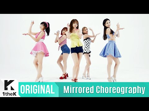 [Mirrored] FIESTAR(피에스타) _ APPLE PIE Choreography(거울모드 안무영상)_1theK Dance Cover Contest
