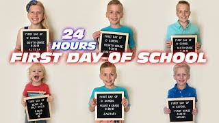 24 Hours with Family Fun Pack on the First Day of School!!