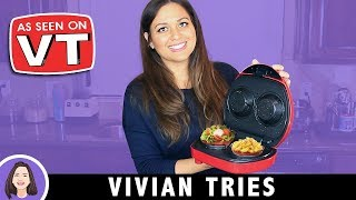 Electric Bacon Bowl Maker | Kitchen Gadget Review | As Seen on Vivian Tries