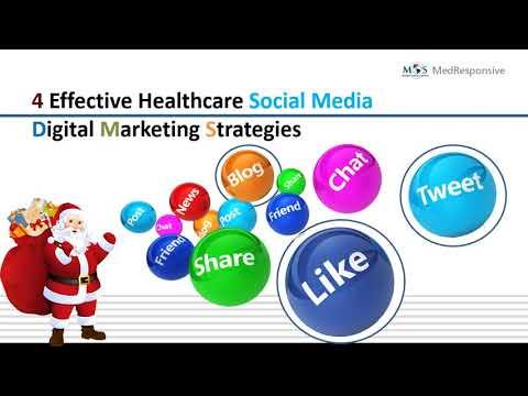 4 Effective Healthcare Social Media Digital Marketing Strategies