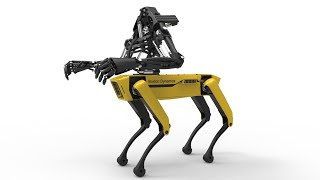 Youbionic One and Boston Dynamics Spot Mini